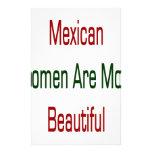 As mulheres mexicanas são mais bonitas papeis personalizados