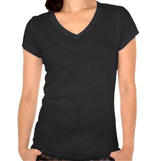 As mulheres protegem a camisa do pitbull da raça camiseta