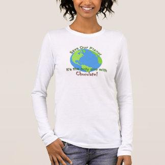 As mulheres salvar nossa camisa do planeta