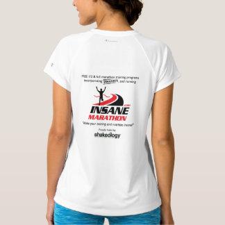 As mulheres secam camisa Running do V-Pescoço apto