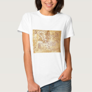 As notas de da Vinci Tshirt