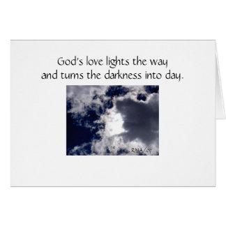 As nuvens podem cobrir o cartão de simpatia do céu