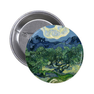 As oliveiras por belas artes de Van Gogh Boton