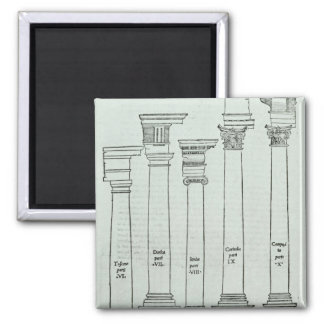 As ordens de arquitetura ímã quadrado