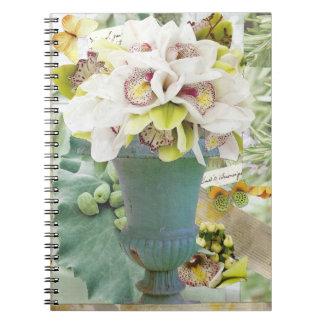 As orquídeas anulam o caderno