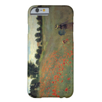 As papoilas selvagens altas do Res Monet aproximam Capa Barely There Para iPhone 6