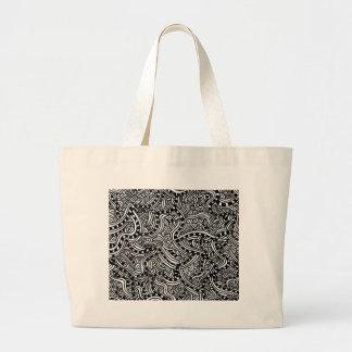 As pérolas bolsas para compras