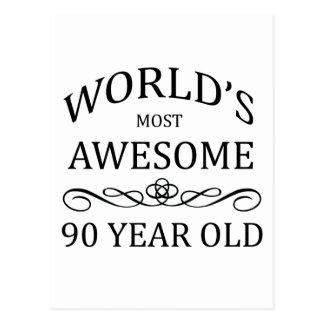 As pessoas de 90 anos as mais impressionantes do m cartão postal