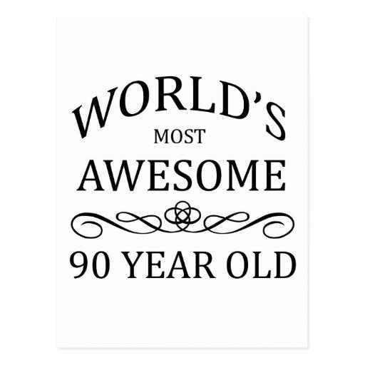 As pessoas de 90 anos as mais impressionantes do m cartoes postais