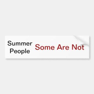 As pessoas do verão som não são adesivo