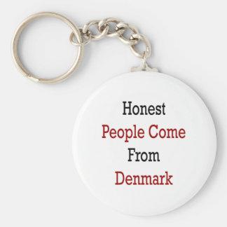 As pessoas honestas vêm de Dinamarca Chaveiros