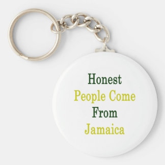 As pessoas honestas vêm de Jamaica Chaveiro