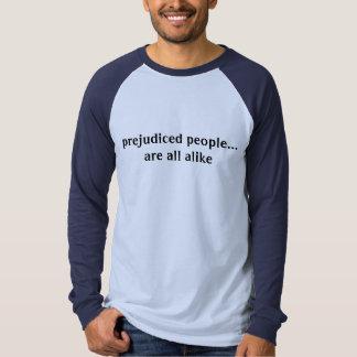 as pessoas prejudicadas… são toda semelhantes t-shirt