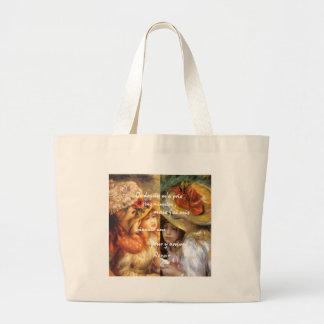 As pinturas de Renoir são abundância do amor Bolsa Tote Grande