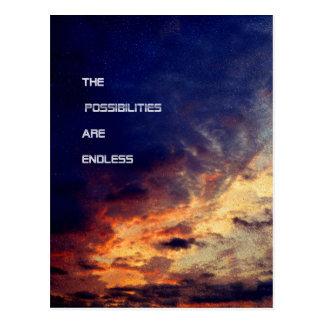 As possibilidades são cartão infinito