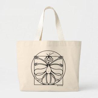 As proporções do mosquito bolsas para compras