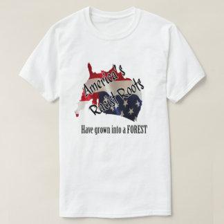 As raizes de América Camiseta