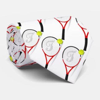 as raquetes de tênis, bola para sportly equipam, o gravata