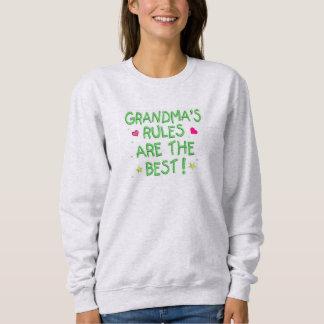 As regras das avós são o melhor moletom