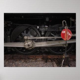 As rodas da movimentação de 844 poster