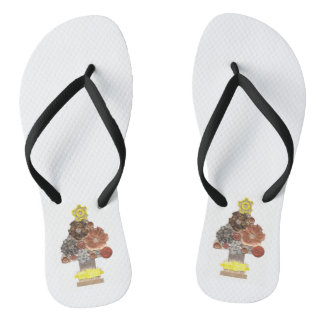 As sandálias dos homens da árvore de Natal de