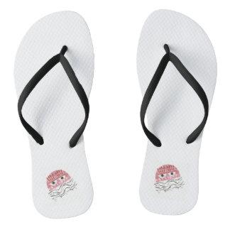 As sandálias dos homens do pente das medusa