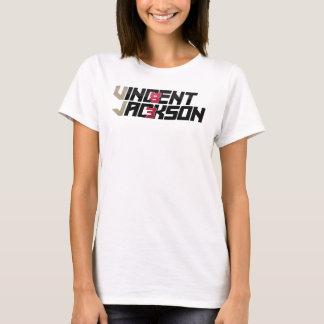 As senhoras de Vincent Jackson couberam a camisa