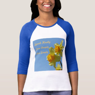 As senhoras do Daffodil couberam a camisa