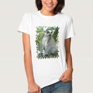 As senhoras do Lemur de Madagascar couberam o Camisetas