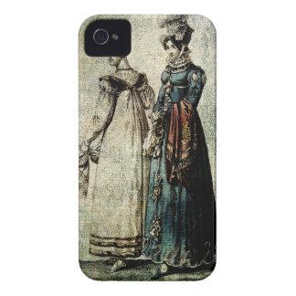 As SENHORAS ELEGANTES VESTEM 1815.j INGLÊS E Capa Para iPhone