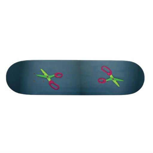 As tesouras das crianças skate