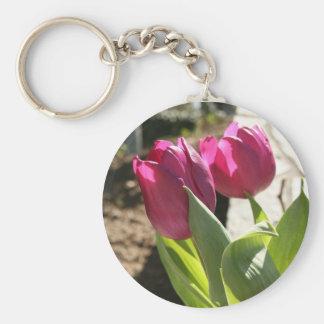 As tulipas da mãe chaveiros