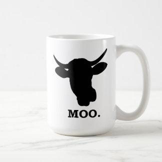 As vacas vão MOO - caneca 15oz