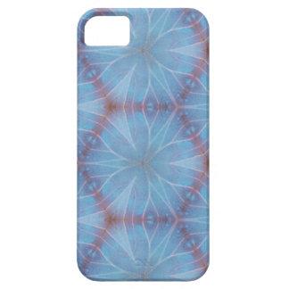 Asa azul Caleidoscopic da borboleta Capa Barely There Para iPhone 5