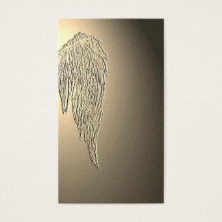 Asa do anjo, cartões de visitas psíquicos