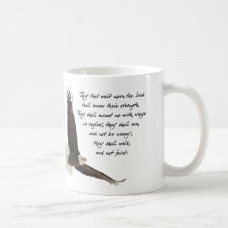 Asas como Eagles Isaiah 4o: 31 Caneca De Café