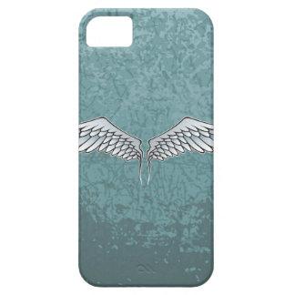 asas das Azul-cinzas Capa Barely There Para iPhone 5
