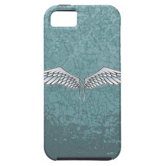 asas das Azul-cinzas Capa Para iPhone 5