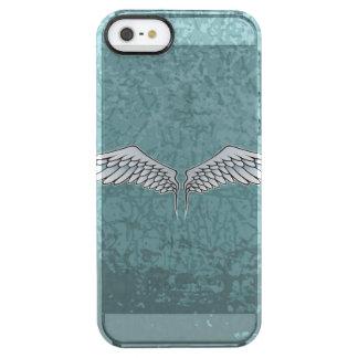 asas das Azul-cinzas Capa Para iPhone SE/5/5s Transparente