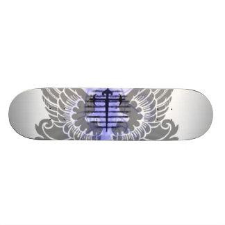 Asas de um anjo shape de skate 18,7cm