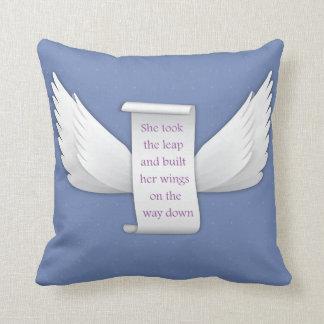 Asas do travesseiro decorativo do amor | almofada
