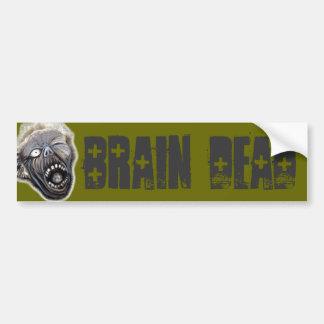 Ascensão do zombi adesivo para carro