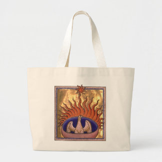 Ascensão dourada de Phoenix das cinzas Sacola Tote Jumbo