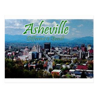 Asheville… diferente é boa! cartão postal
