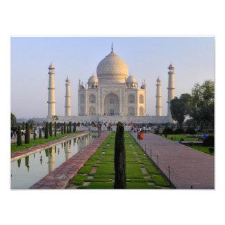 Ásia, India, Uttar Pradesh, Agra. O Taj 2 Fotografias