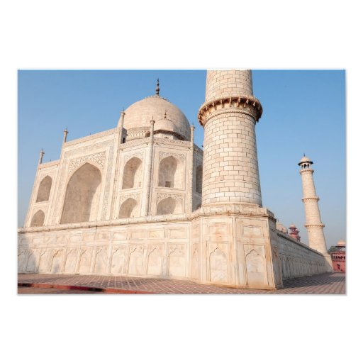 Ásia, India, Uttar Pradesh, Agra. O Taj 3 Impressão De Foto