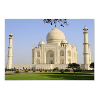 Ásia, India, Uttar Pradesh, Agra. O Taj 5 Impressão De Foto