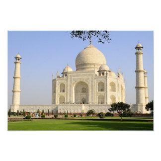 Ásia, India, Uttar Pradesh, Agra. O Taj Impressão De Foto