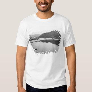 Ásia, Japão, Iwakuni. Pescadores e histórico Camiseta