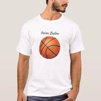 Asiático Baller Camiseta